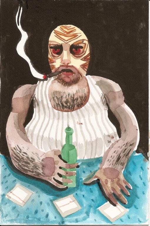 Tigre Sketch (Rob Donnelly)